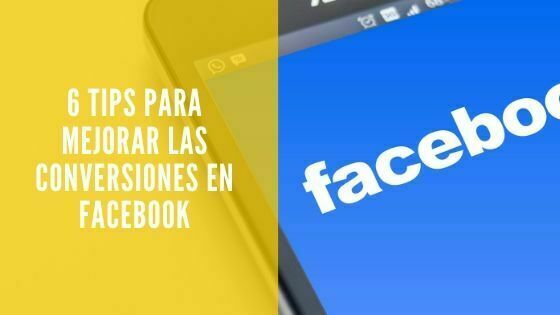 conversiones en facebook