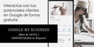 Google My Business. SEO para tu negocio local